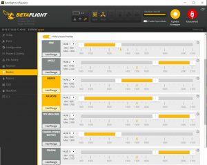 Betaflight Modes